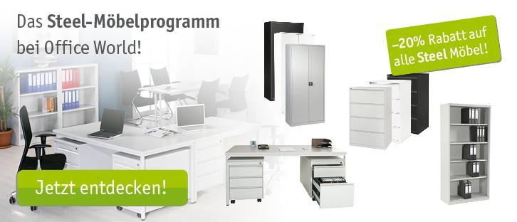 Büromöbel & -Einrichtungen - Officeworld.ch